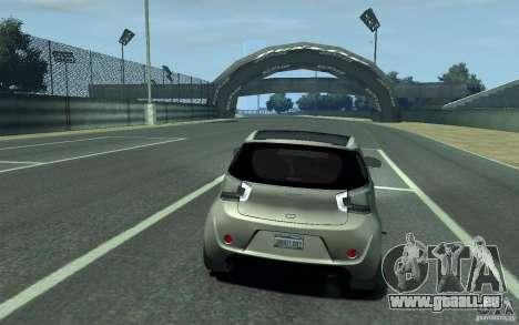 Aston Martin Cygnet 2011 für GTA 4 rechte Ansicht