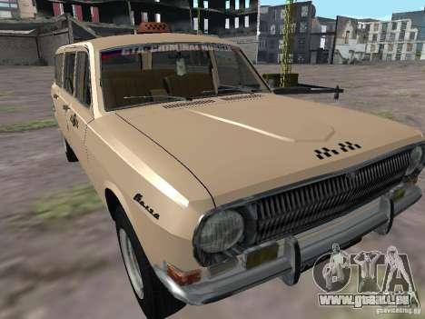 Volga GAZ-24 Taxi 02 pour GTA San Andreas