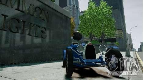 Bugatti Type 35C für GTA 4 rechte Ansicht
