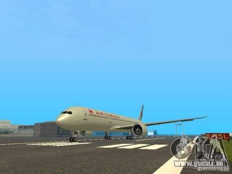 Boeing 787 Dreamliner Air Canada für GTA San Andreas