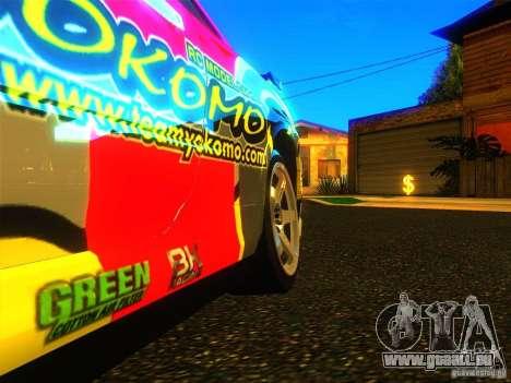 Nissan Skyline R34 Nismo pour GTA San Andreas vue de droite