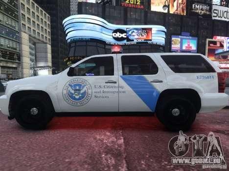 Chevrolet Tahoe Homeland Security pour GTA 4 est une gauche