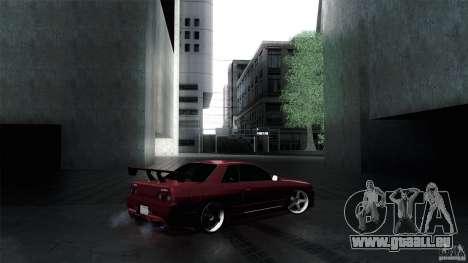Nissan Skyline GT-R32 für GTA San Andreas Rückansicht