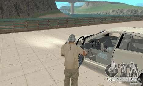 Honda Accord Comfort 2003 pour GTA San Andreas vue arrière