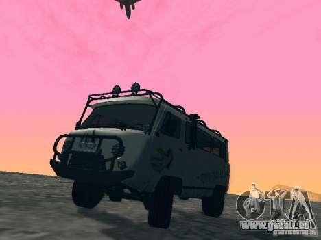 UAZ 2206 für GTA San Andreas Innenansicht