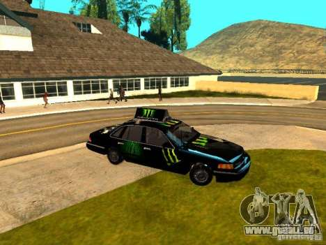 Ford Crown Victoria Taxi für GTA San Andreas linke Ansicht