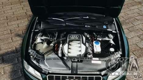 Audi S5 pour GTA 4 vue de dessus