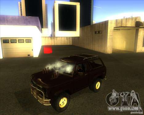 Blazer XL FlatOut2 für GTA San Andreas linke Ansicht