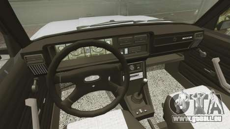 VAZ-2107 2011 DAG für GTA 4 Rückansicht
