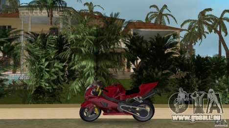 Suzuki GSX-R 1000 für GTA Vice City linke Ansicht