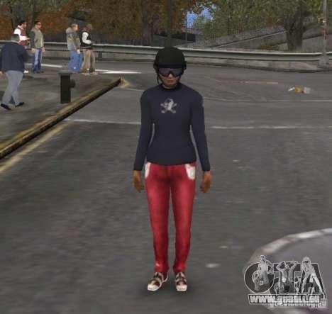 Player Selector pour GTA 4 quatrième écran