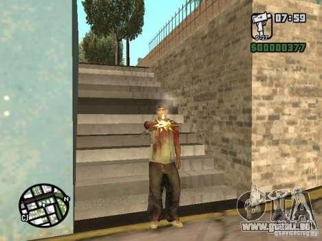 Markus young pour GTA San Andreas deuxième écran