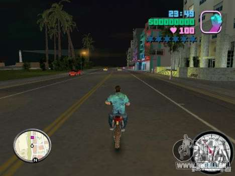 Tachometer für GTA Vice City Screenshot her