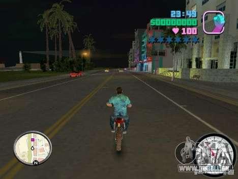 Compteur de vitesse pour le quatrième écran GTA Vice City