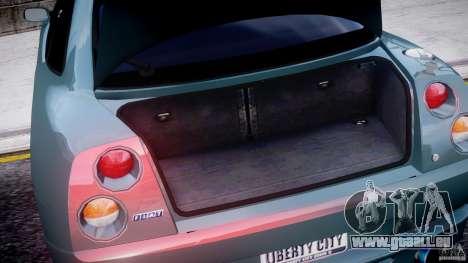 Fiat T20 Coupe pour GTA 4 est une vue de l'intérieur