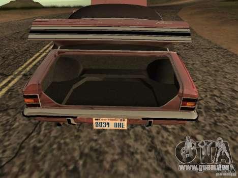 Ford Cortina MK 3 2000E pour GTA San Andreas vue de droite