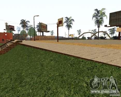 Texture de la Cour de basket-ball pour GTA San Andreas deuxième écran