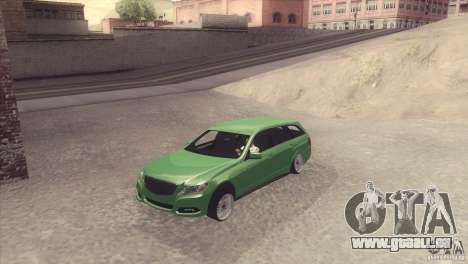 Mercedes-Benz E-Class Estate S212 pour GTA San Andreas