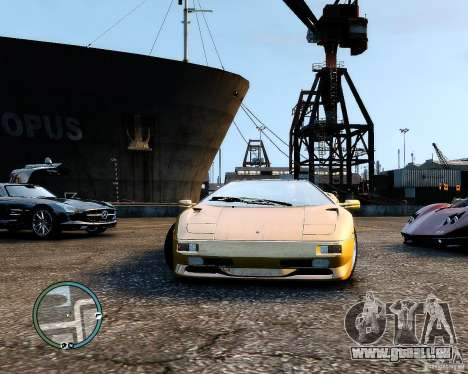 Lamborghini Diablo SV 1997 EPM v.2.3 für GTA 4 rechte Ansicht