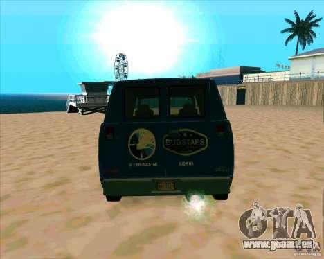 BUGSTARS Burrito from GTA IV für GTA San Andreas rechten Ansicht