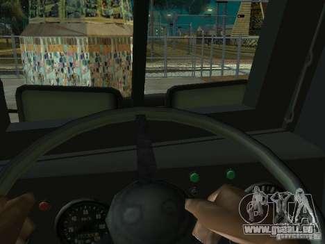 KrAZ-256 b 1-030 pour GTA San Andreas laissé vue