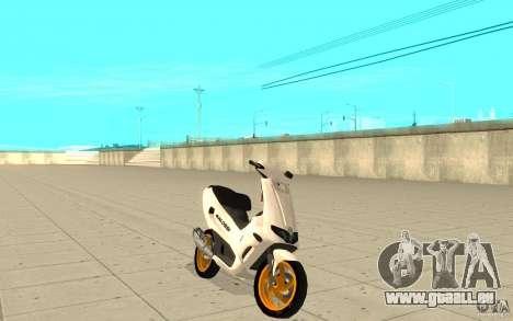 Gilera Runner 50SP Skin 3 für GTA San Andreas
