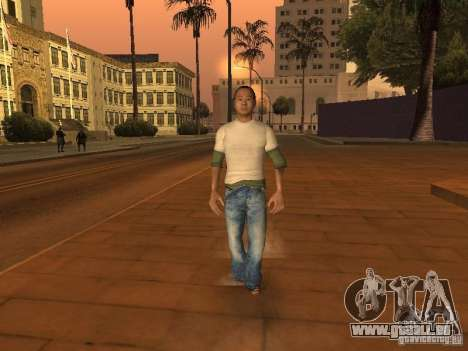 Black Stallion Peds für GTA San Andreas her Screenshot