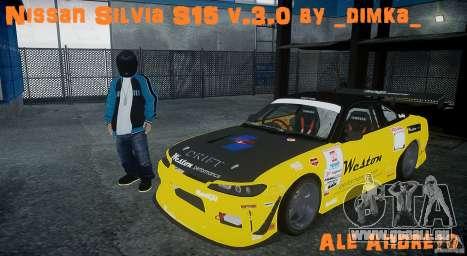 Nissan Silvia S15 v.3.0 für GTA 4