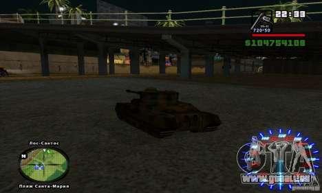 RC mod pour GTA San Andreas troisième écran