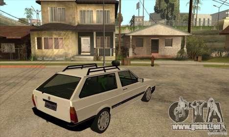VW Parati GLS 1989 für GTA San Andreas rechten Ansicht