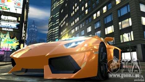 Lamborghini Aventador LP700-4 2011 EPM pour GTA 4 vue de dessus