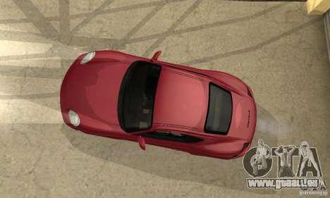 Porsche Cayman S für GTA San Andreas Seitenansicht
