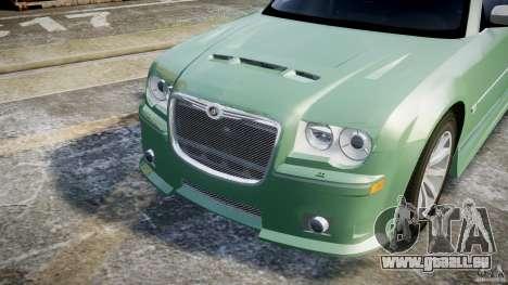 Chrysler 300C SRT8 Tuning pour GTA 4 vue de dessus