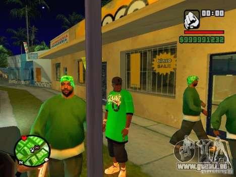 50 cent Skin pour GTA San Andreas troisième écran