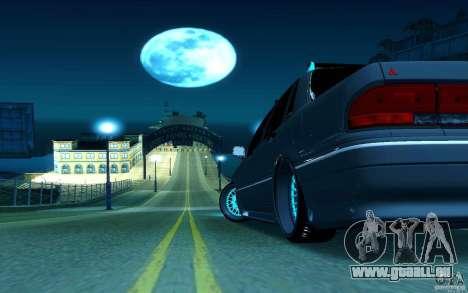 Mitsubishi Galant pour GTA San Andreas vue de droite