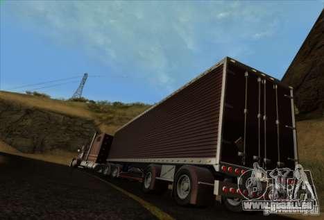 Freightliner Classic XL Custom für GTA San Andreas Rückansicht