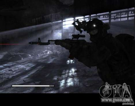 Laden Bildschirme Metro 2033 für GTA San Andreas sechsten Screenshot
