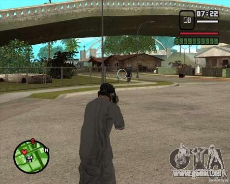 GTA IV Target v.1.0 pour GTA San Andreas troisième écran