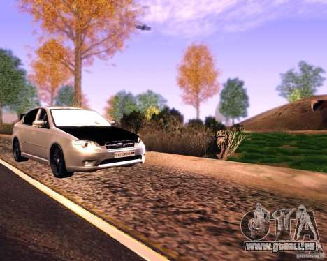 Subaru Legacy 3.0 R tuning v 2.0 pour GTA San Andreas vue de droite