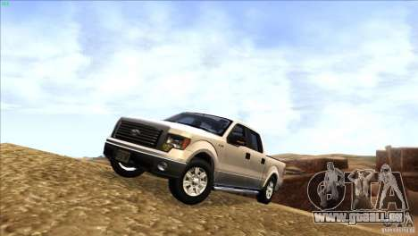 Ford F150 XLT SuperCrew 2010 für GTA San Andreas linke Ansicht