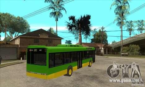 Solaris Urbino 11 pour GTA San Andreas vue de droite