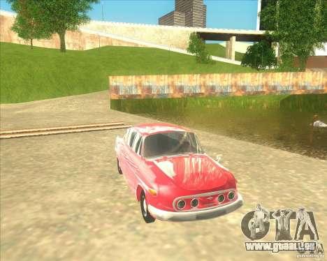 Tatra 603 für GTA San Andreas zurück linke Ansicht