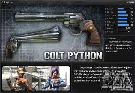 [Point Blank] Colt Python pour GTA San Andreas