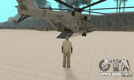 Sikorsky MH-53 für GTA San Andreas Innenansicht