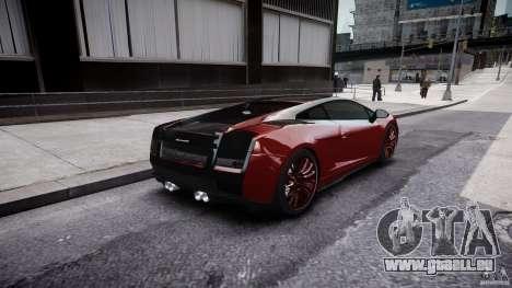 Lamborghini Gallardo Superleggera 2007 (Beta) pour GTA 4 vue de dessus