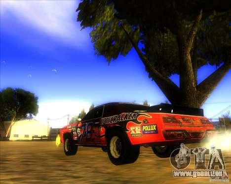 Bonecracker de FlatOut 1 pour GTA San Andreas sur la vue arrière gauche