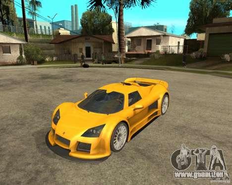 Gumpert Appolo pour GTA San Andreas