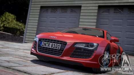 Audi R8 V8 2008 v2.0 pour GTA 4