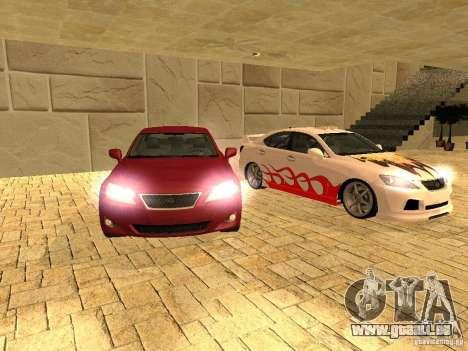 Lexus IS 350 pour GTA San Andreas