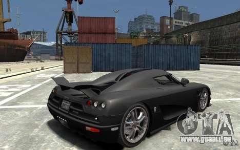 Koenigsegg CCXR Edition V1.0 pour GTA 4 est un droit